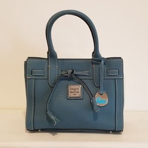 Dooney & Bourke Pebble Grain Small Tassel Tote